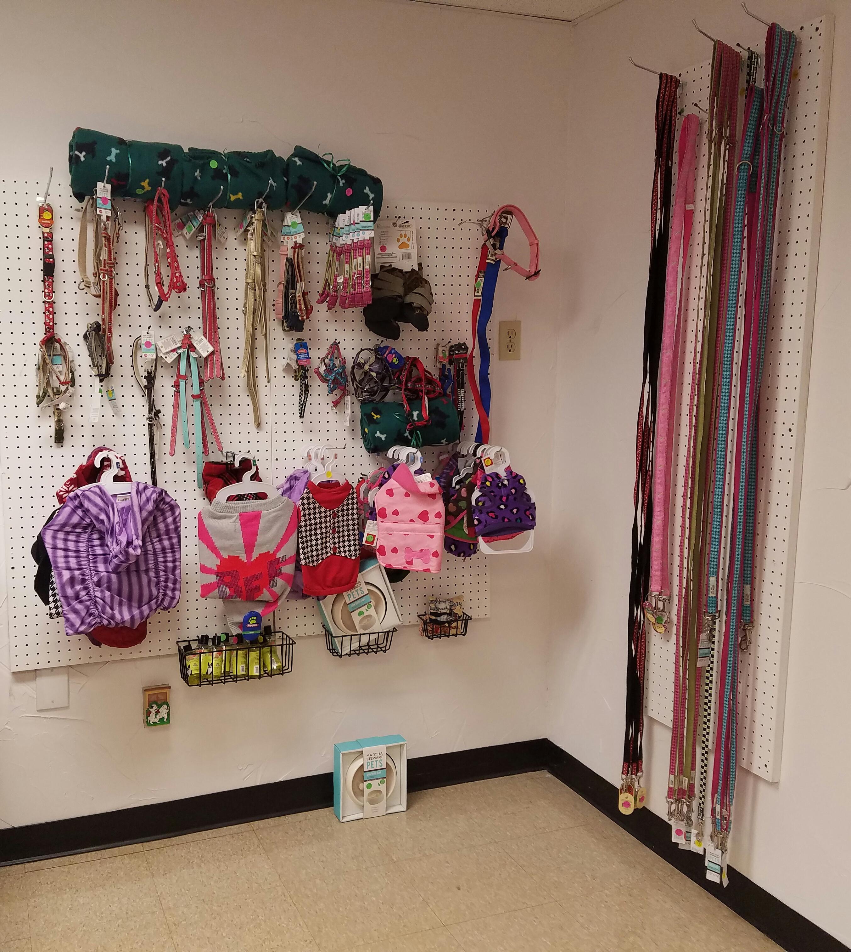 Merchandise corner