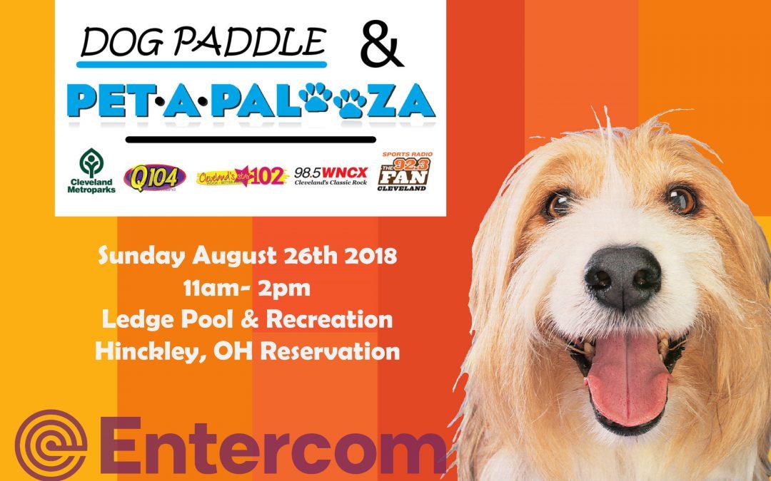 Dog Paddle and Pet A Palooza August 26, 2018